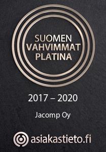 Suomen vahvimmat platina - 2017-2020